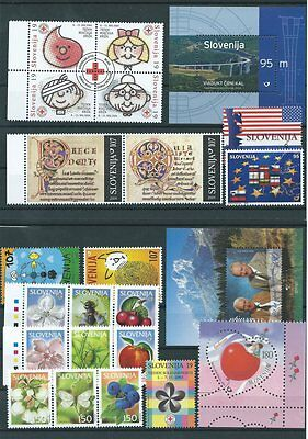 Small lot of Slovenia  stamps  NMH Lot1