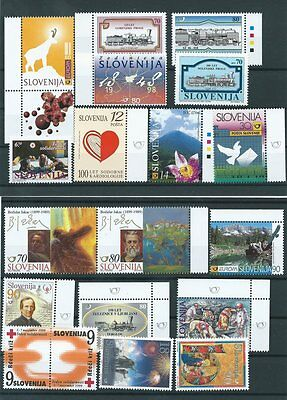 Small lot of Slovenia  stamps  NMH Lot2