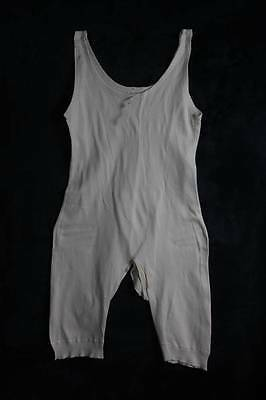 VINTAGE 1940s CC41 WW2 LADIES COMBINATION UNDERWEAR KNICKERS VEST  (4026)