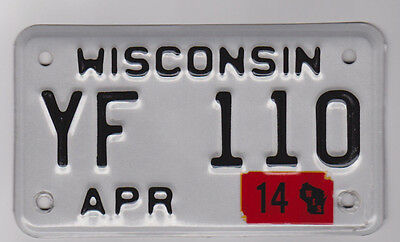 HARLEY COUNTRY Wisconsin Motorcycle Tag License Plate COLLECTOR BANDIDOS BIKER