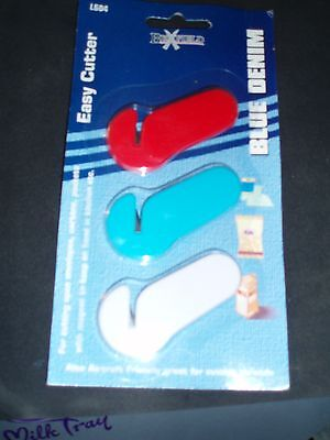 Craft Scissors- pack 3 easy cutters to cut your threads can be taken on a plane