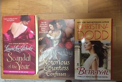 Collection Of 3 Romance Novels