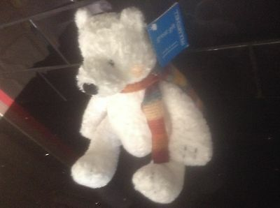 Paul Mitchell Snowflake Teddy 80/90's Vintage Collectable Or Xmas Gift With Tag
