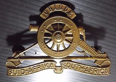 Suid Afrika - South African Artillery Pouch Badge
