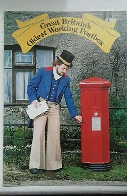 First day of Sale Postcard Great Britains Oldest Working PostOffice 17.05.78