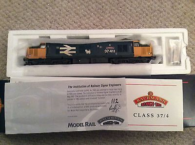 Bachmann Ltd Edition Ref. 32-375X Diesel Class 37/4  37411 in Large Logo Livery