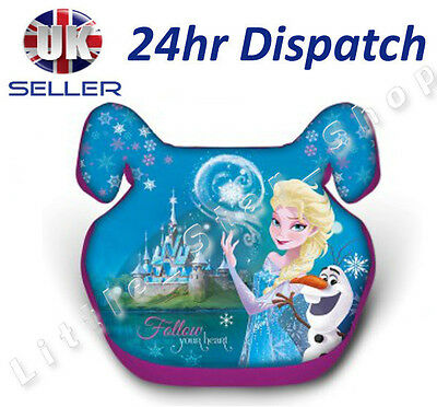 Disney FROZEN Girl Kids Baby CAR Booster Seat 15-36kg 3-12years Group 2/3