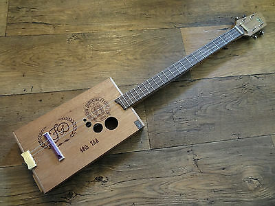ShonKy ShonKybox4 4 string Cigar box guitar. Acoustic  fretted,