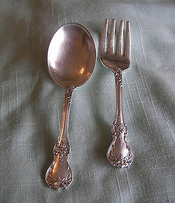 Towle Sterling Silver Baby Spoon & Fork Set Towle Sterling Flatware