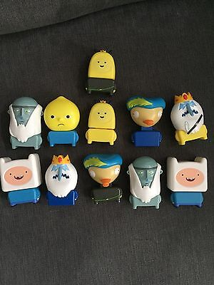 Adventure Time McDonald's Happy Meal toy bundle. 12 Toys.