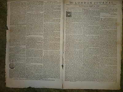 The London Journal August 24Th 1728 Numb 473