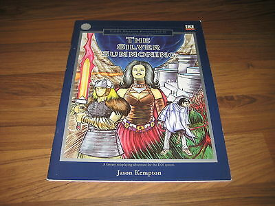 d20 The Silver Summoning Adventure Softcover 2001 Fiercy Dragon Productions