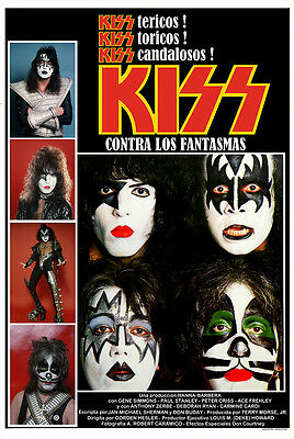 Kiss Meets The Phantom Argentina  Poster 24X36