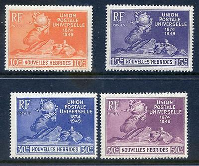 French New Hebrides 1949 UPU very fine mint unmounted (2016/11/26/#02)