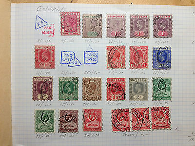 Fantastic booklet with old stamps, mainly AFRICA - cat.   400 EUR