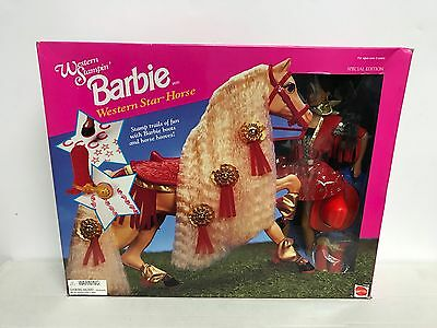 Western Stampin' AA African American BARBIE with Western Horse Collectors Doll