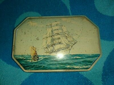 Vintage Walters Palm Toffee Tin