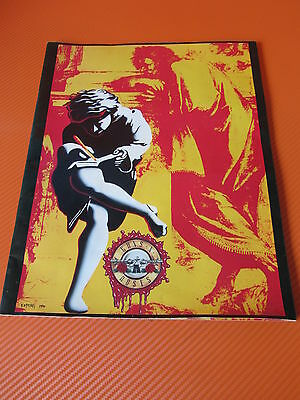 Vintage Guns And Roses - Use Your Illusion Tour 1991 Concert Program - Rare Item