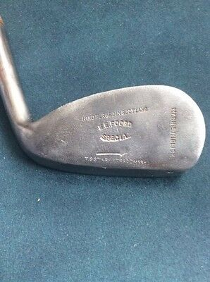 "Mashie/Niblick Foulis Style Head, Tom Stewart, Swing Weight C~7, ""Player"""