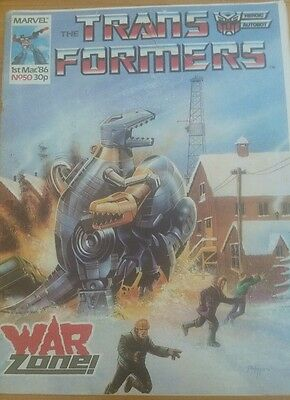 Transformers G1 Marvel UK issue #50