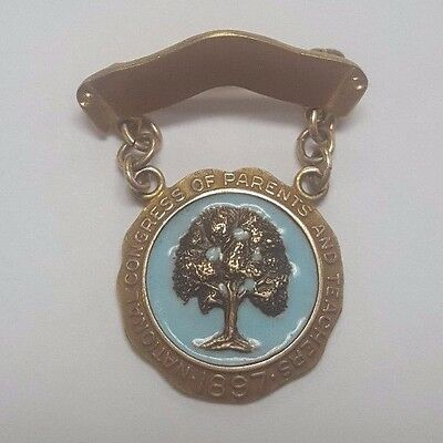 1897 National Congress or Parents and Teachers Pin