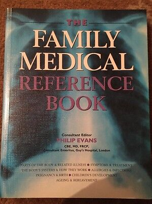 The Family Medical Reference Book, paperback, edited by Philip Evans