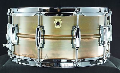 LUDWIG Copperphonic 6.5x14 Copper Snare Drum LC663 -NEW !