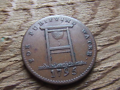 Middlesex.  London.  1795 Halfpenny Token.     Nice Condition.