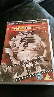 dr who the dalek invasion of earth dvd (dvd files #95)