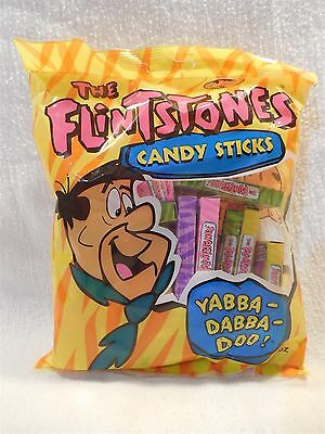 Flintstones 1999 Sealed Package of Candy Stick Boxes 2.4 oz