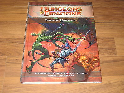D&D 4th Edition Tomb Of Horrors Adventure Hardcover WotC 2009 Neu New