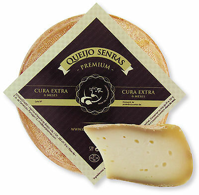 900 gr PREMIUM PORTUGUESE cheese 6 month old cow  milk