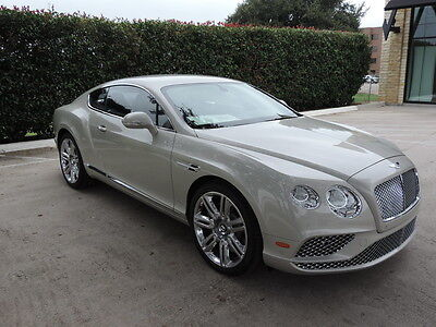 2016 Bentley Continental GT  Beautiful GT driven personally by our owner!! MSRP $241985.00 Save!!
