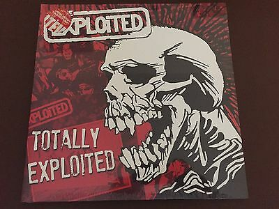 The Exploited Coloured Vinyl Punk Double Lp (Totally Exploited) *sealed*