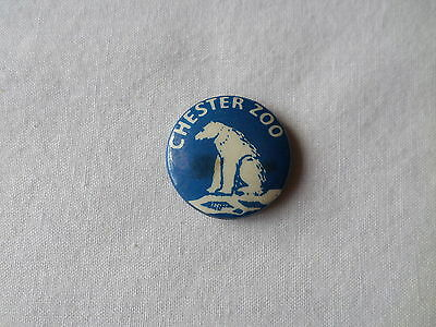 Vintage CHESTER ZOO BADGE