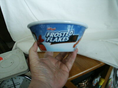 Kellogg's Cereal Character Bowls...Frosted Flakes Tony The Tiger NEW