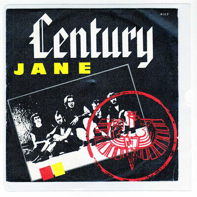 "CENTURY 7 "" Only Spanish JANE 2 tracks  Different Cover 1986 /16"