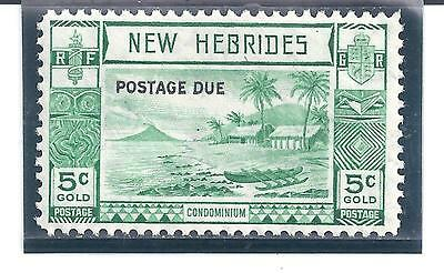 NEW  HEBRIDES.... # J6  ( Postage Due )....1938....Mint  LH....SCV  $ 20