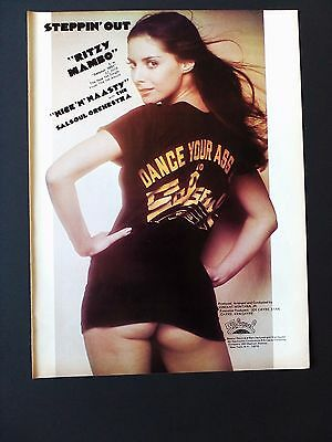 "THE SALSOUL ORCHESTRA ""Nice & Naasty"" Original Promo Poster Ad"