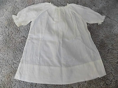 Antique/Victorian Infant Christening Gown-Completely Hand Sewn & Embroidered