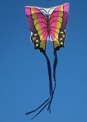 Butterfly kite (pink)