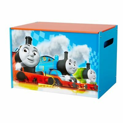 NEW Thomas the Tank Engine Toy Storage Box | Kids Bedroom Toys Tidy Train