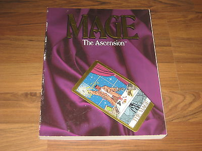Mage The Ascension 1st Edition Core Rulebook Core Rules 1993 White Wolf WW4000