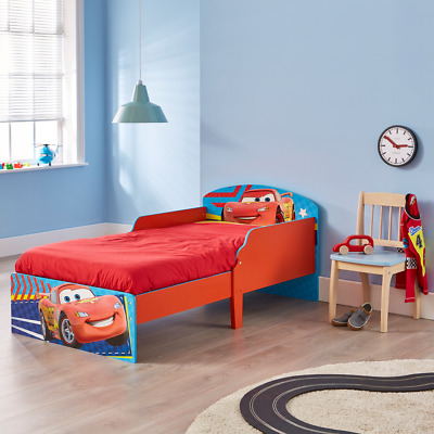 NEW Disney Pixar Cars Lightning McQueen Toddler Bed with storage drawer | Kids