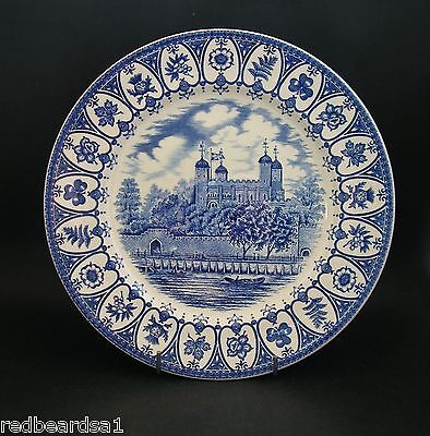 Queens Silver Jubilee 1977 Commemorative Plate Tower of London Broadhurst 24cms