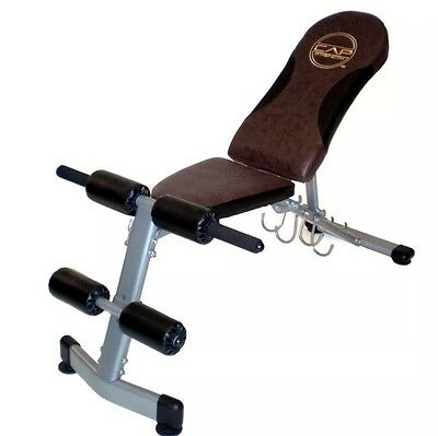 CAP Barbell Pro FID Weight Adjustable Bench Model - FM 504 Great Condition