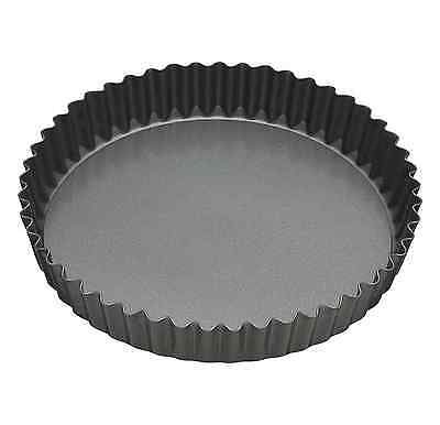 Master Class Non-Stick Large Fluted Flan Tin / Quiche Pan with Loose Base, 30 cm