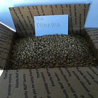 10 Pounds Of Panama Green Coffee Beans Coffee Roasting Beans Coffee Blends Green