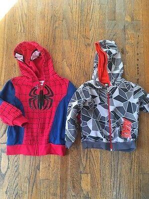 Kids Spider-Man And Nike Hoodie Lot 4T/3T