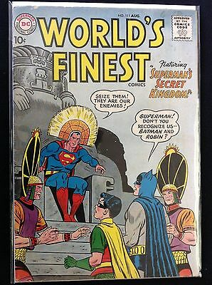 WORLD'S FINEST #111 Lot of 1 DC Comic Book!